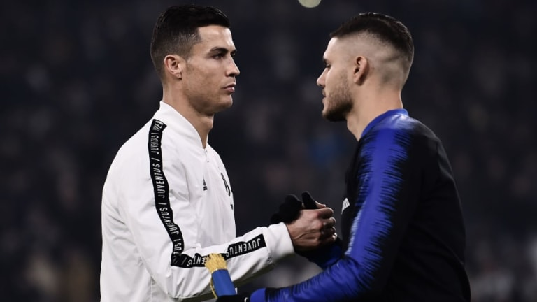 Cristiano Ronaldo Eager for Juventus to Sign Mauro Icardi Instead of Romelu Lukaku This Summer