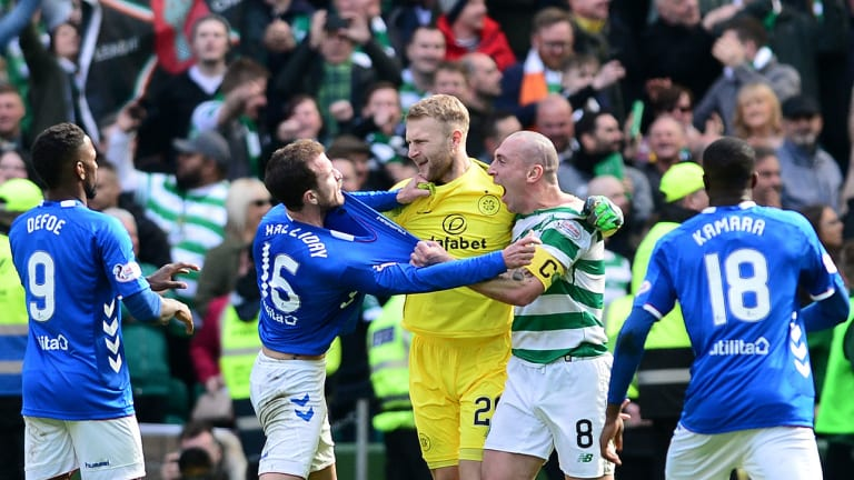 WATCH: Another Heated Old Firm Derby as Celtic Beats Rangers