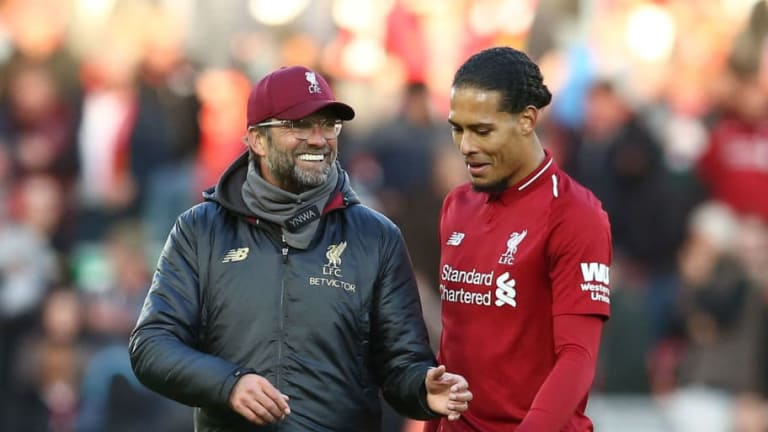 Jurgen Klopp Delivers Message to Virgil van Dijk After Defender Wins PFA Player of the Year Award