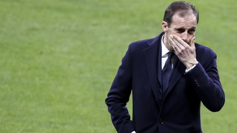 """Allegri: """"El Atlético hace que todos los que juegan contra ellos jueguen mal"""""""