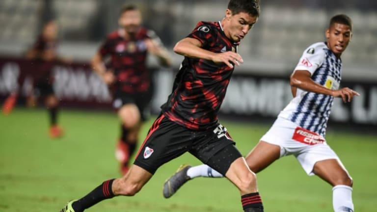 VIDEO | La viveza de Nacho Fernández para el segundo gol de River que ya recorre el mundo