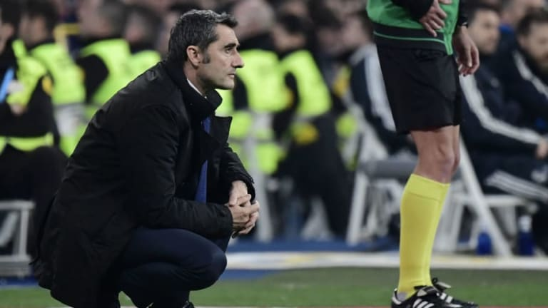 Ernesto Valverde Admits Barcelona Were 'Not Well-Rounded' in Copa del Rey Clásico Win