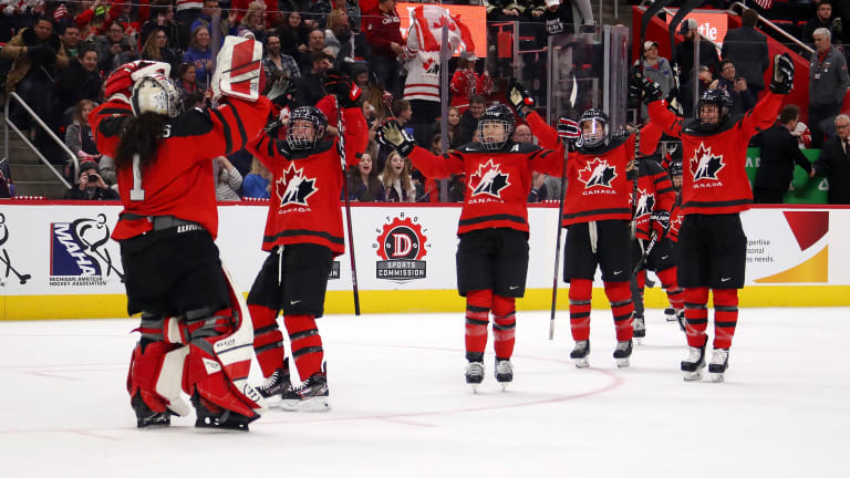 Canadian Women Beat U.S. in Game 3 to Win Rivalry Series