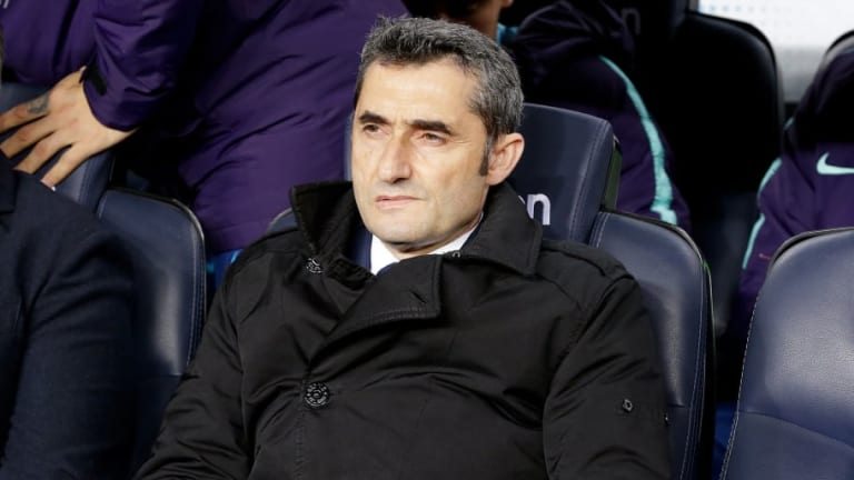 Ernesto Valverde Not Fazed by Barcelona's Lack of Goals Ahead of Champions League Tie With Lyon