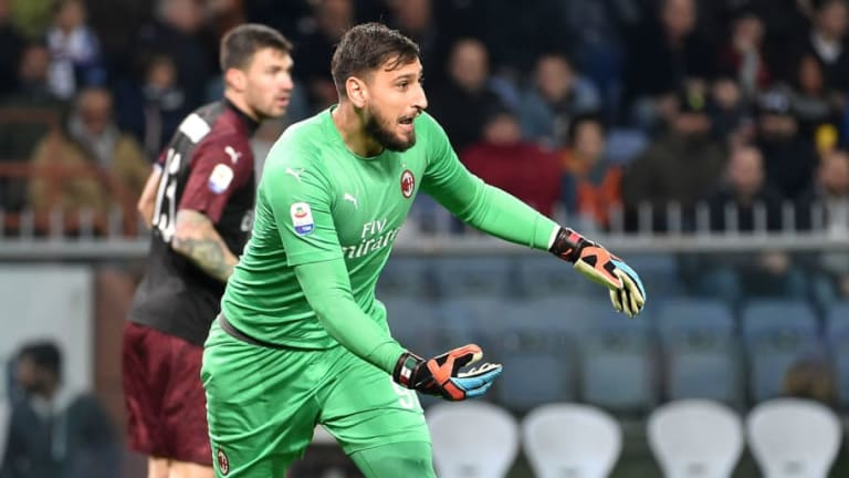 Gianluigi Donnarumma Apologises After Blunder During Milan's Defeat to Sampdoria