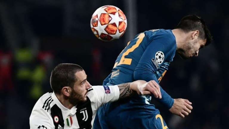 POLÉMICA | Chiellini anota para la Juventus pero el árbitro lo anula por falta de Cristiano
