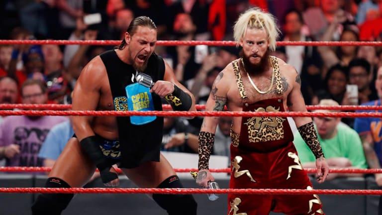 The Former Enzo Amore and Big Cass Reunite as 'Free AgentZ'