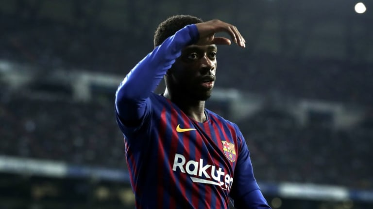 PARTE MÉDICO | Dembélé está en duda para disputar la vuelta frente al Lyon por Champions League