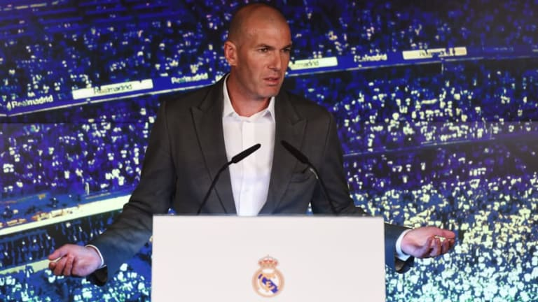 Zinedine Zidane Discusses Return to Real Madrid During Los Blancos Press Conference