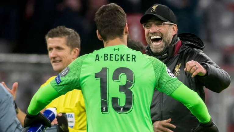 Jurgen Klopp Reveals the Brilliant (and Bizarre) Picture Alisson Becker Sent Him From His Holiday