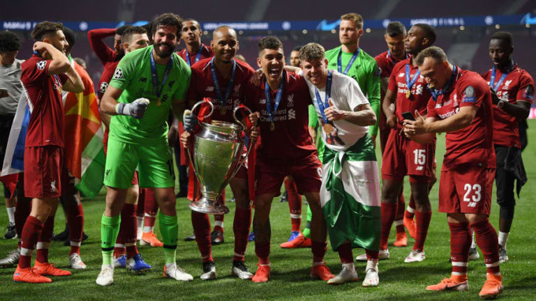 VIDEOS: Liverpool Players Lose Their Minds in the Aftermath of Champions League Victory