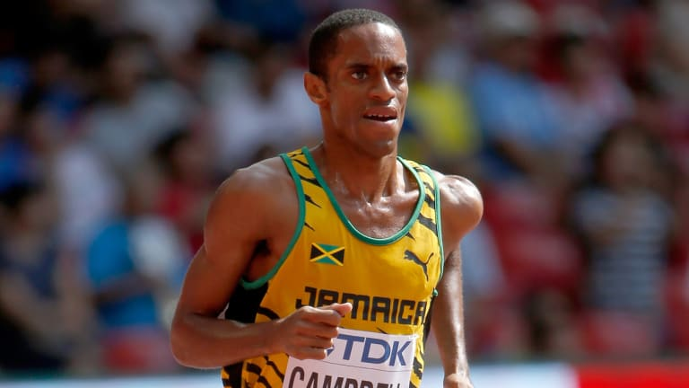 Jamaican Olympian Kemoy Campbell Awake, Talking After Scary Collapse During Race
