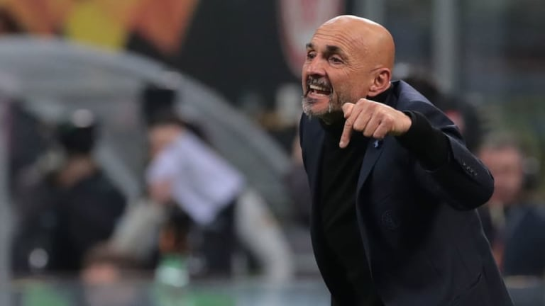 Luciano Spalletti Bemoans 'Naive' Performance After Inter Crash to Europa League Exit