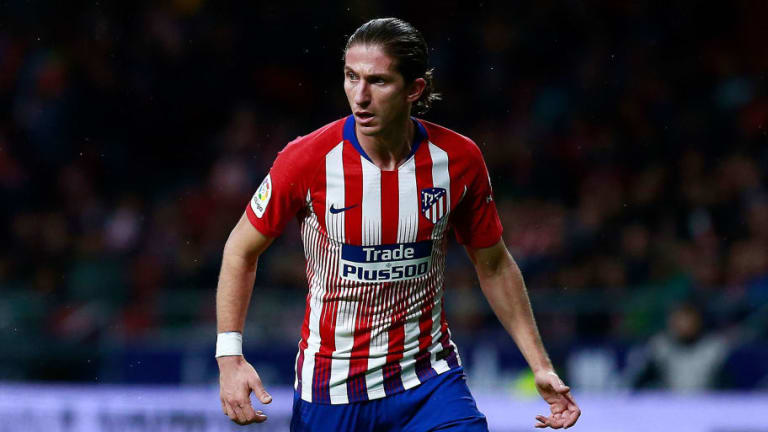 Filipe Luis Doubtful for Champions League Clash Against Juventus With Muscle Injury