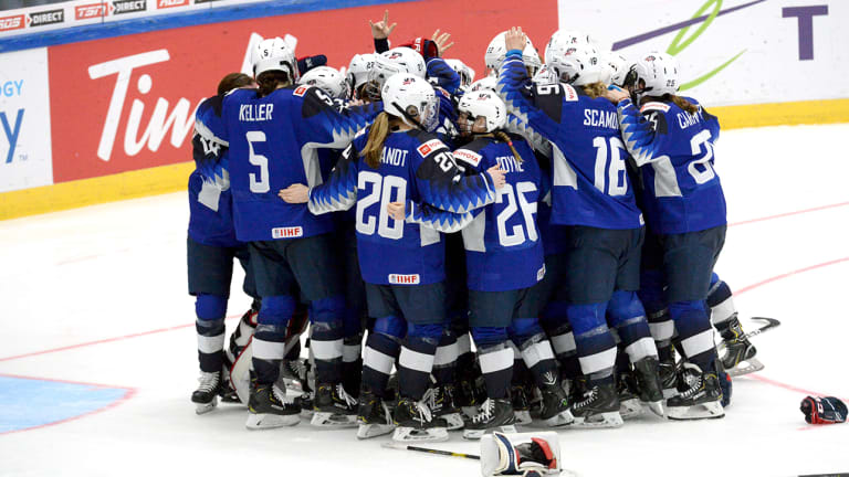 U.S. Beats Finland in Shootout for Gold After OT Controversy