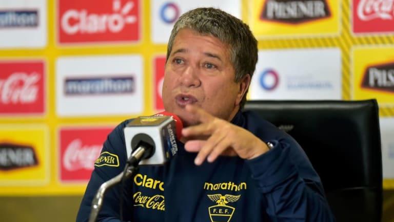 'Bolillo' Gómez promete que Ecuador será campeón en la Copa América