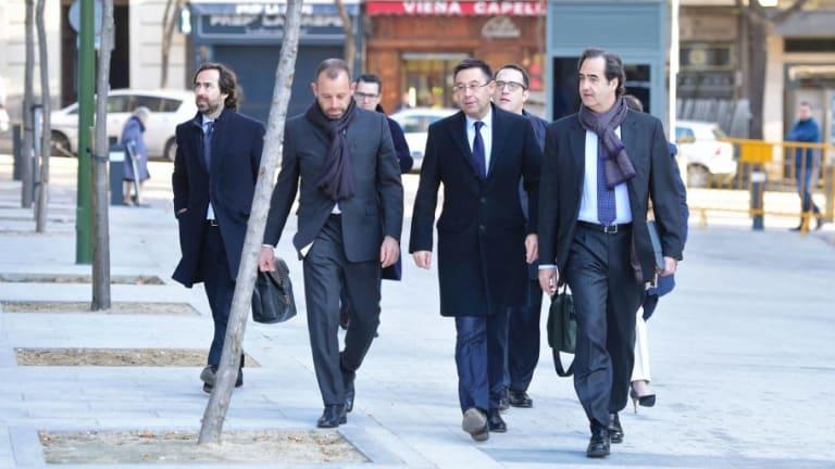 Former Barcelona President Sandro Rosell Released From Prison Pending Trial for Money Laundering