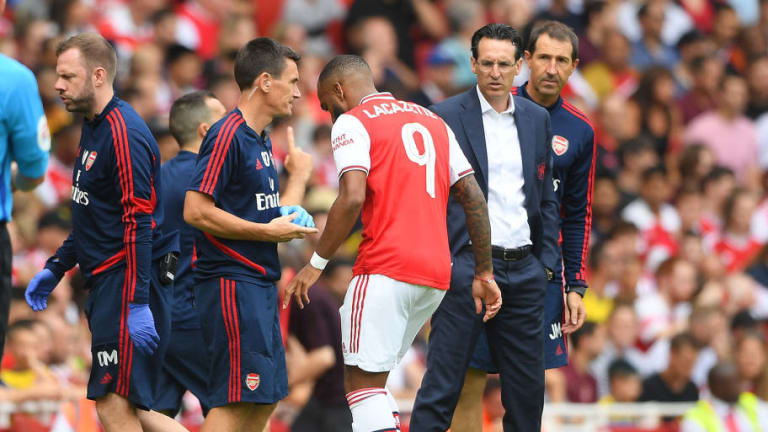 Unai Emery Provides Alexandre Lacazette Fitness Update After Arsenal Forward Limps Off in Friendly