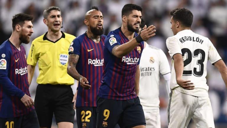 """Reguilón atacó a Suárez y a Messi en pleno Clásico: """"Tú sí que eres feo"""""""