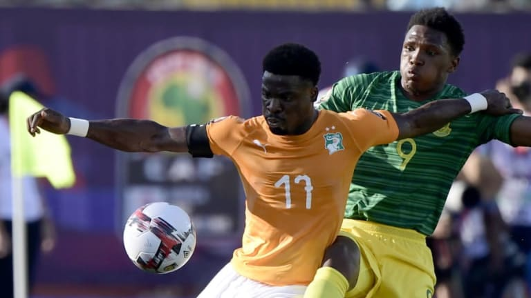 Tottenham's Serge Aurier Reveals He Could Be Set to Miss Rest of AFCON With Suspected 'Tear'