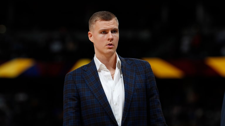 Report: Kristaps Porzingis Accused of Raping Woman in New York in 2018