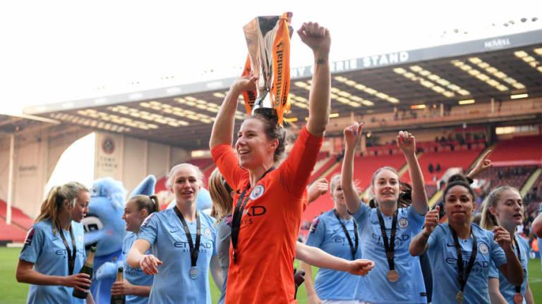 Nick Cushing Hails Karen Bardsley After Man City Goalkeeper's Penalty Heroics in Cup Final Win