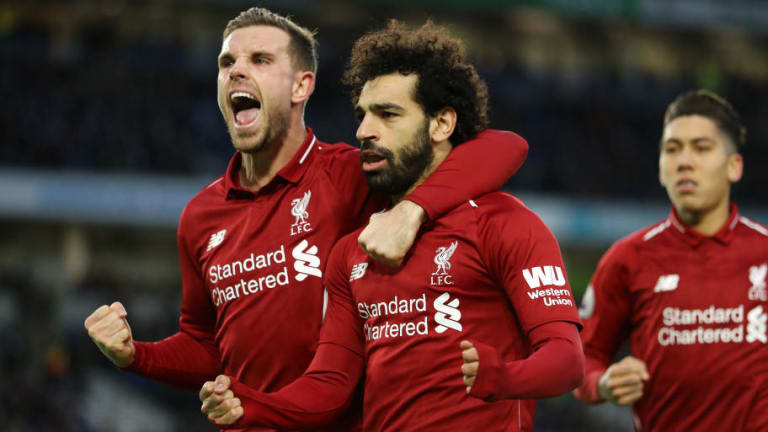 Brighton 0-1 Liverpool: Report, Ratings & Reaction as Salah Penalty Sees Reds Return to Winning Ways