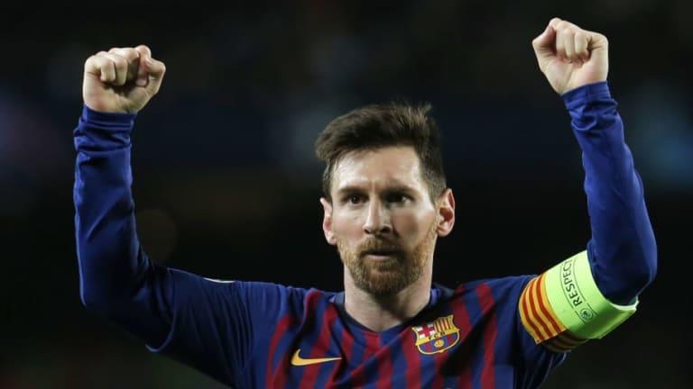 El escalofriante récord que logró Messi ante el Lyon por Champions League