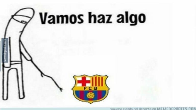 Los mejores 'memes' de la derrota del FC Barcelona, el debut de Murillo, el teatro de Busquets y más