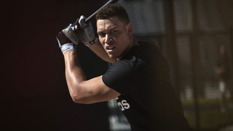 Exclusive: Yankees Superstar and AL Rookie of the Year Aaron Judge Joins Adidas