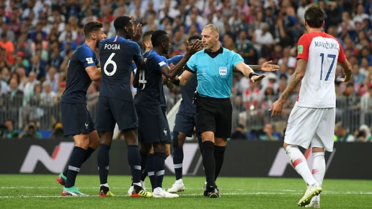 Referee Watch: Twitter Reacts to Nestor Pitana's Performance as France Win the FIFA World Cup
