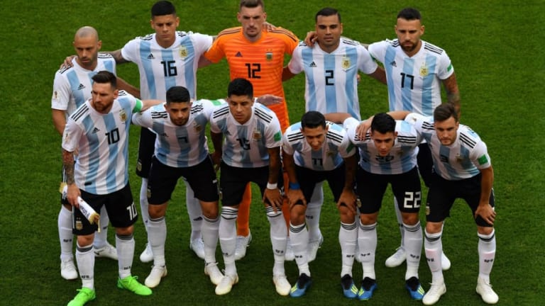 SORPRESA   El Barcelona está interesado en un jugador de la selección Argentina