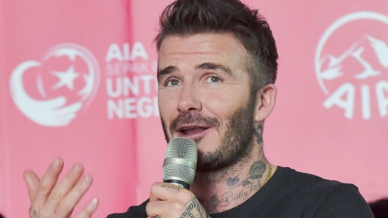 David Beckham Reveals He Was Once Told 'You'll Never Play for England' By Former Coach