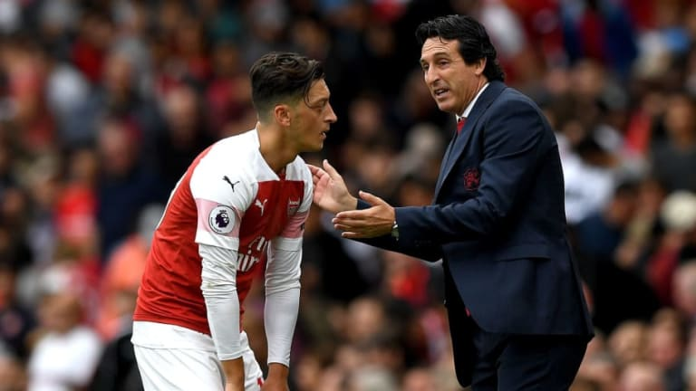 Mesut Ozil & Unai Emery Bust-Up Reports Unfounded as German Returns to Training After Illness