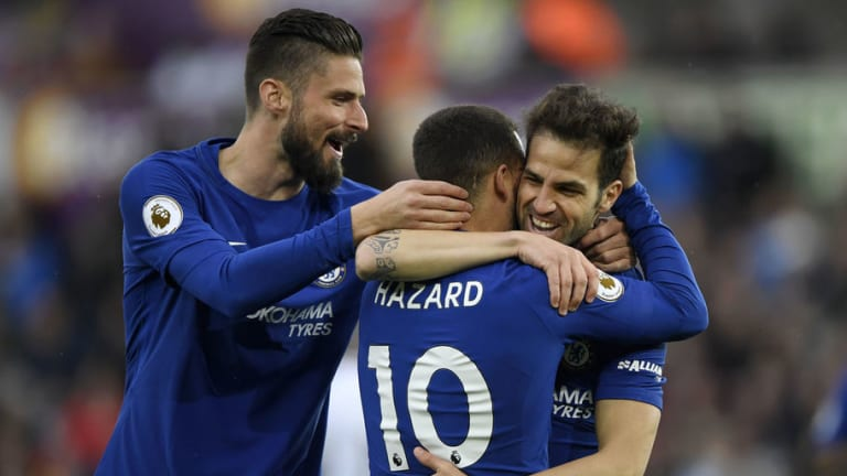 Cesc Fabregas Believes Chelsea Are Ready to 'Dig in' & Battle Tottenham Hotspur for a Top 4 Finish