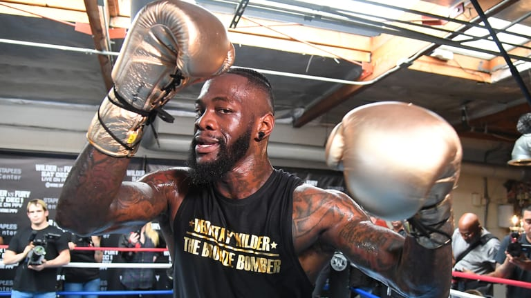 'Walking Icon' Deontay Wilder Fighting Tyson Fury and His Own Reputation