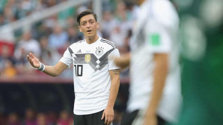 Mesut Ozil Panned by Tottenham Fans Following Terrible World Cup Performance Against Mexico