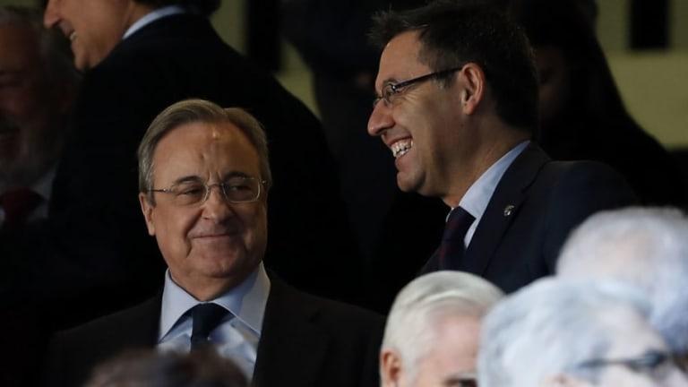 Confirmaron el menú de las directivas del Real Madrid y Barcelona en la previa del Clásico