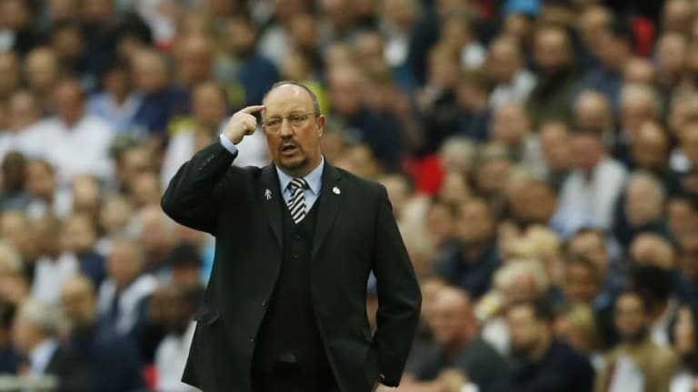 Magpies Boss Rafa Benitez Hints That 'Unlucky' Newcastle Youngster Is Still in Future Plans