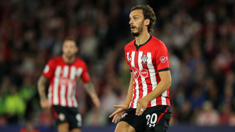 Southampton Forward Manolo Gabbiadini Doubtful to Face Liverpool Due to Hamstring Problem