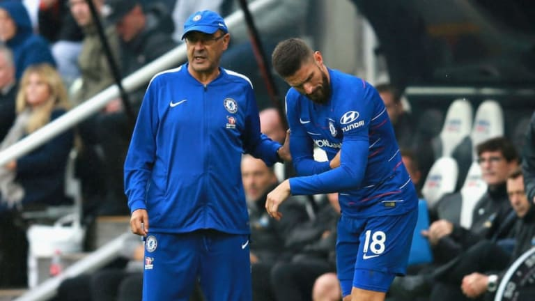 Maurizio Sarri Reveals Why He Remains Unconcerned Over Chelsea's Misfiring Striking Options