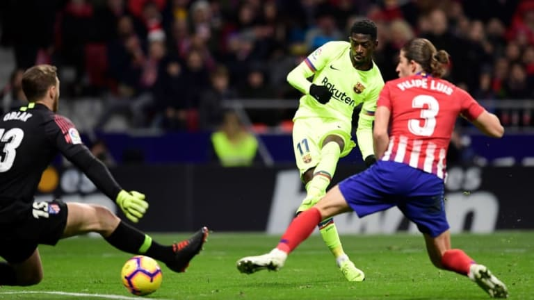 Atletico Madrid 1-1 Barcelona: Report, Ratings & Reaction as Late Dembele Strike Earns Barca a Point