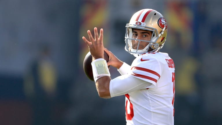 """""""A Bit of Brady"""": How Jimmy Garoppolo Copied the G.O.A.T.—Then Escaped His Shadow"""