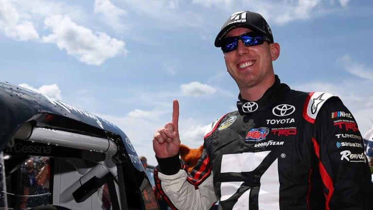 Kyle Busch Matches Hornaday for Career Truck Series Wins