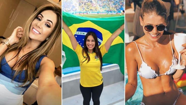 BELLEZAS | Las WAG's de Brasil que están en Rusia 2018 y van a 'distraer' al Tri