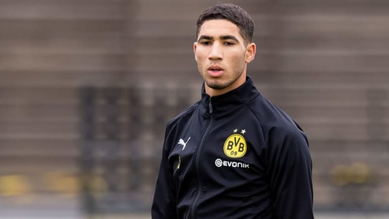 Achraf Hakimi's Agent Reveals Player Feels at Home in Dortmund & Provides Update on Madrid Return