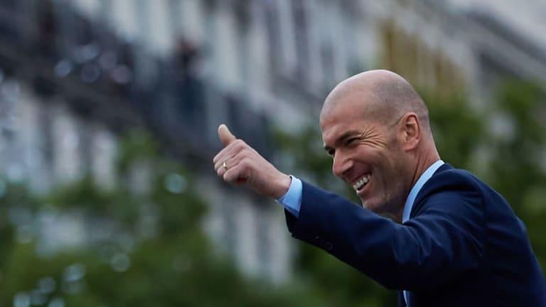 Así fue el mensaje despedida de Zidane en redes sociales