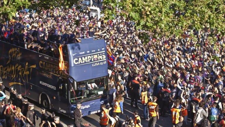 LO DESVELAMOS   Así será la rúa de celebración del doblete del FC Barcelona