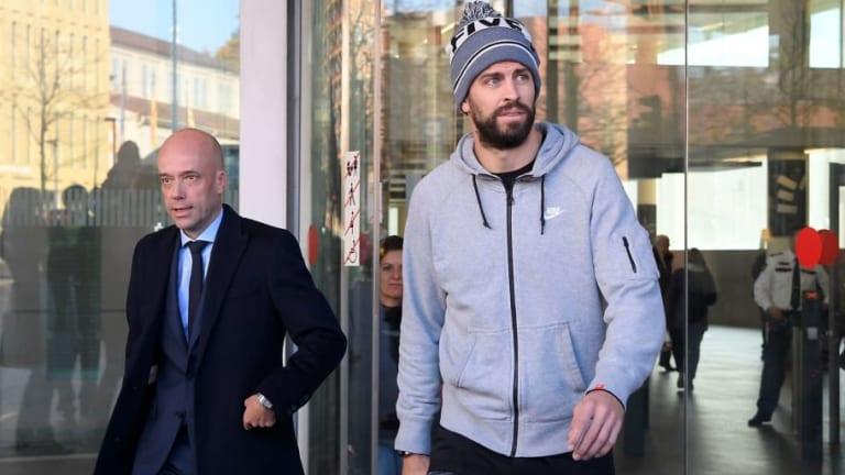Piqué, condenado a pagar una multa de 48.000 euros por conducir sin puntos en el carnet