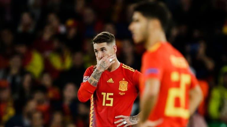 PREOCUPACIÓN   Así está hoy el estadio donde jugará España ante Bosnia en menos de un mes